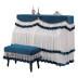 新款钢琴防尘罩钢琴套全罩高档钢琴布盖布欧式现代简约钢琴帘半罩
