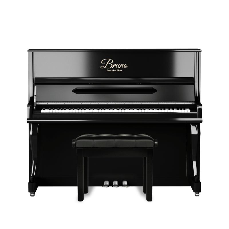 德国布鲁诺智能钢琴静音立式钢琴家用专业考级高端智能成人up122